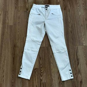 Peruvian Connection White Stretch Ryder Pants